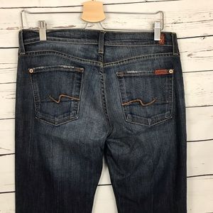 """7 For All Mankind Flare Jeans Size 29 Inseam 34"""""""